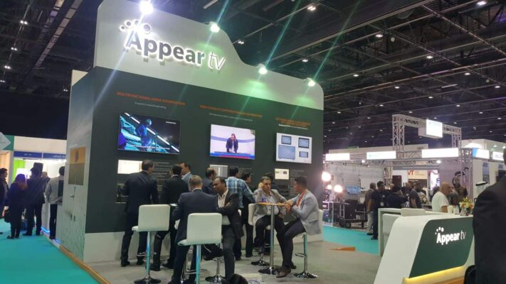 Appear stand at CABSAT 2018